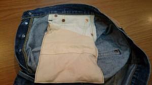 160212-右のフロントポケット袋のダメージ補修後