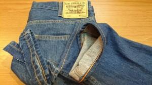 6ジーンズチェーンステッチ裾上げ