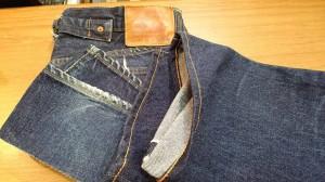 1ジーンズチェーンステッチ裾上げ