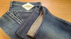 4ジーンズチェーンステッチ裾上げ